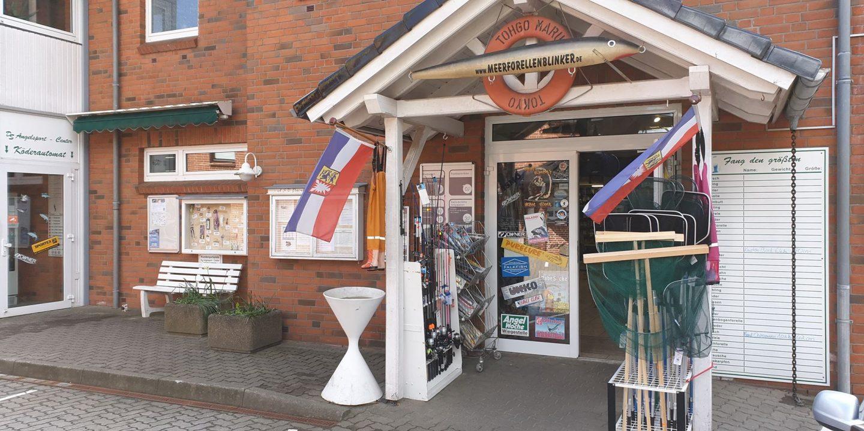 DS Angelsport Venter i Flensborg, har et kæmpe udvalg af fiskegrej.